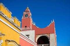 Merida city Town hall of Yucatan  Mexico Stock Photography