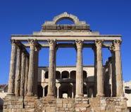 Merida, Extremadura, Spain. Roman temple. Stock Images