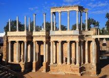 Merida, Extremadura, Spain. Roman theatre. Stock Photo