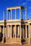 Merida, Extremadura, Spain. Roman theatre. Stock Image
