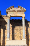 Merida, Extremadura, Spain. Roman theatre. Royalty Free Stock Photo