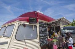 Merida Food Truck Festival 2017, Spanien Royaltyfri Foto