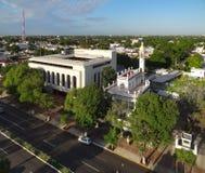 Merida. High angle view of Merida in Yucatan, Mexico Stock Photo