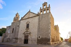 Merida Iglesia Mejorada church in Yucatan Stock Image