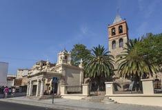 Merida kyrkliga Santa Eulalia Royaltyfri Foto