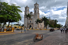 Merida Mexico Colonial City Royalty Free Stock Photos
