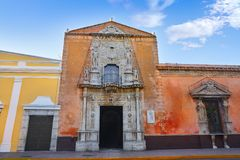 Merida Montejo house Nat heritage Yucatan Stock Image