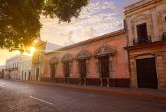 Merida Montejo house Nat heritage Yucatan Royalty Free Stock Images