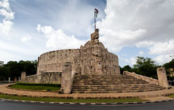 Merida Monumento alla patria, Yucatan, Messico Patria Monu Fotografia Stock