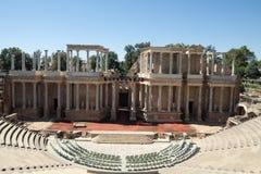 merida roman theatre Royaltyfri Foto