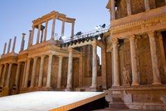 Merida rzymski teatr zdjęcie stock