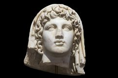 Roman bust of Emperor Augustus royalty free stock photo