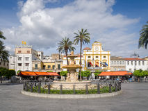 Merida Town Centre Extremadura Spain Photographie stock