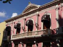 Merida Yucatan Colonial Architecture. Photo of pretty colonial architecture in downtown merida yucatan mexico Stock Photo