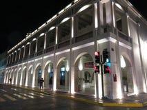 Merida Yucatan du centre la nuit Image libre de droits