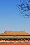The Meridian Gate. The Forbidden City, Beijing Stock Photo