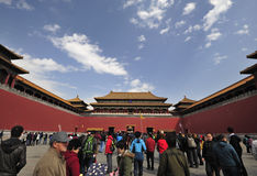 Meridian Gate, The Forbidden City Royalty Free Stock Photography