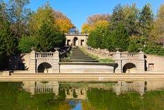 Meridian Hill Park in autumn, Washington DC, USA. Stock Photos