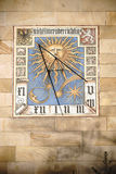 Meridiana alla Camera Francoforte di Liebieg Immagini Stock
