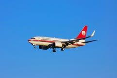 Meridiana Boeing 737 Fotos de archivo