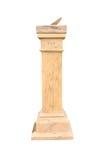 Meridiana di pietra Fotografia Stock