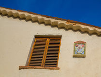 Meridiana e finestra Fotografia Stock Libera da Diritti