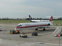 Meridianflygplan Royaltyfri Fotografi