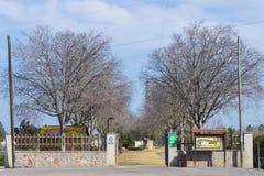 Meridiano park obraz royalty free