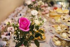 Merienda-cena elegante fotografía de archivo