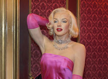 Merilyn Monroe wax figure Stock Image