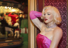 Merilyn Monroe wax figure Royalty Free Stock Photo