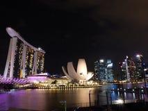Merinabaai Singapore Royalty-vrije Stock Afbeelding