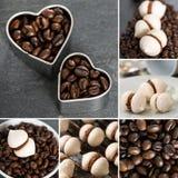 Meringa del caffè espresso Immagine Stock