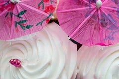 Meringe-Cocktail-Regenschirm (1) Lizenzfreie Stockbilder