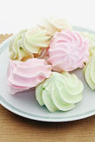 Meringue Photo stock