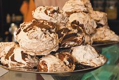 Meringue. Stock Photo
