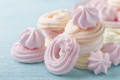 Meringue Fotografia de Stock Royalty Free