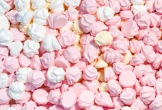 Meringue background Royalty Free Stock Photo