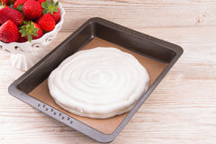 Meringue-based dessert Royalty Free Stock Photography