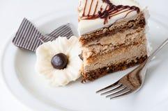 Meringue cake Stock Photography