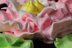 Meringue cake Royalty Free Stock Photography