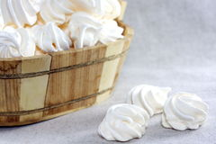 Meringue cakes Royalty Free Stock Images