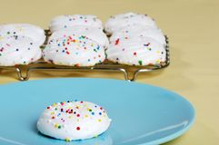 Meringue Cookie Stock Images