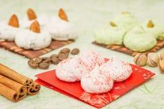 Meringue cookie Stock Photos