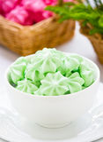 Meringue cookies Stock Photo
