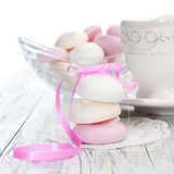 Meringue cookies Stock Image