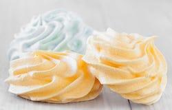 Meringue Cookies Closeup Stock Image