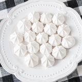 Meringue cookies Royalty Free Stock Photos