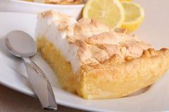 Meringue da galdéria do limão imagem de stock