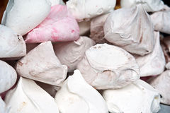 Meringue large coloured Royalty Free Stock Photo